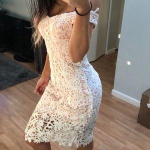 Vici Dolls - Charm Me Lace Dress - White - Small